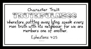 Character Trait Verses 1-12