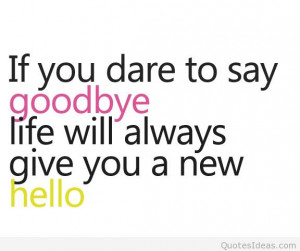 awesome sad goodbye quotes