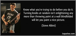 More Steve Albini Quotes
