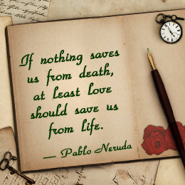 Pablo Neruda (July 12, 1904 – September 23, 1973) was the pseudonym ...