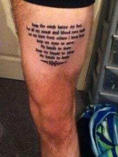 Mumford and Sons tattoo - Mumford and Sons Official Forum