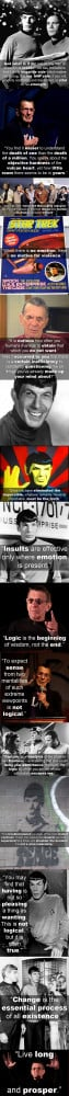 Spock Quotes By Leonard Nimoy