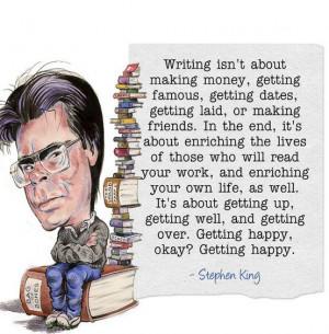 écriture selon Stephen King