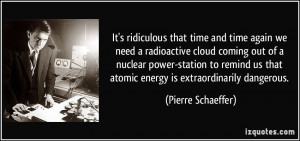 ... nuclear power-station to remind us that atomic energy is