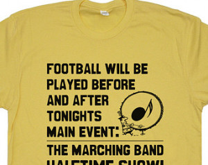 Marching Band T Shirt Vintage Soft Funny Band Camp Shirt Halftime Show ...