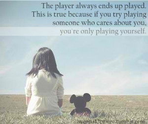 Quotes About Boys Being Players Tumblr