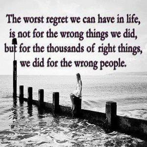Forgive yourself....