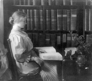 Helen Keller circa 1907.