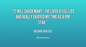 Quotes by Belinda Carlisle