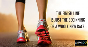 Workout quotes # 3 The finish line is just the beginning of a whole ...
