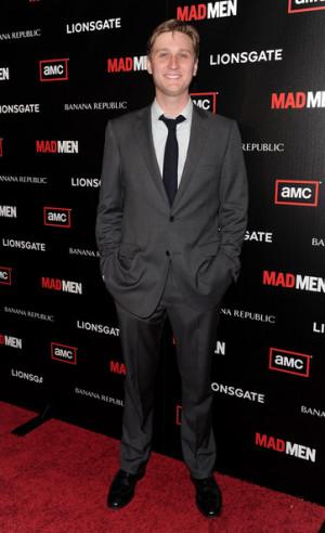 Actor Aaron Staton Arrives...
