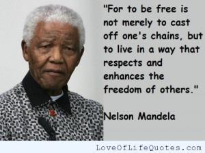 nelson mandela quote on courage nelson mandela quote on life nelson ...