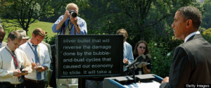 11 Reasons Some Guy Stole Obama's Teleprompter (PHOTOS)
