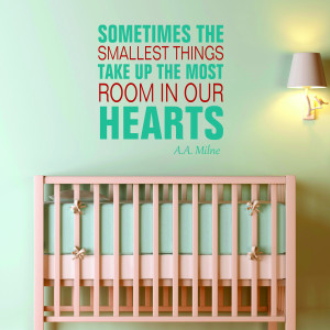 Nursery Vinyl Words and Wall Quotes #3