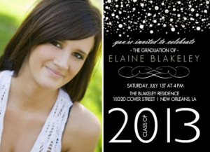 High School Graduation Invitation Wording