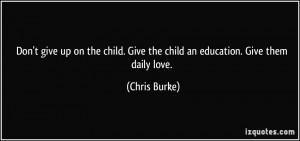 More Chris Burke Quotes