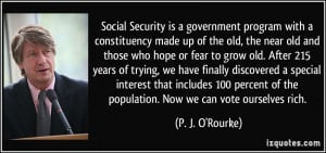 More P. J. O'Rourke Quotes