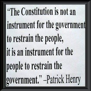 patrick henry quote - Had but Obama studied history, we might have a ...