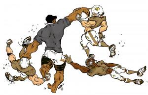 Dopo questa immagine, gli amanti del rugby potrebbero bruciare tutti i ...