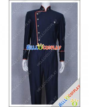 Battlestar Galactica Costume Commandant William Adama Uniforme