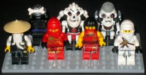 Lego Ninjago Sensei Wu Vs Lord Garmadon LEGO Ninjago Kai Hair