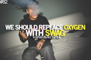 ... lesson in the meaning of swag. Pay close attention to this picture