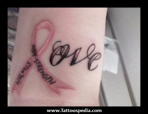 Kanji Symbol And Cancer Tattoo On Side Rib