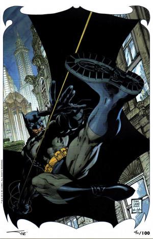 JIM LEE BATMAN 609 HUSH ART PRINT BY JIM LEE ALEX SINCLAIR JPG