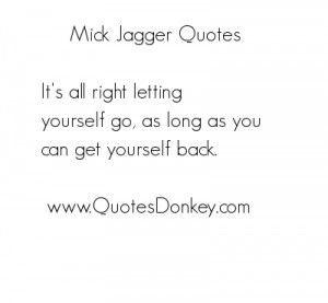 Mick Jagger quote #2