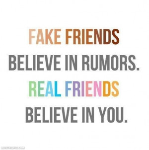 Real Friends Believe in You