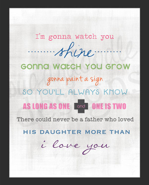 Father and Daughter Poem buy from etsy for only $ 22.00