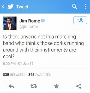 Jim Rome tweeted,
