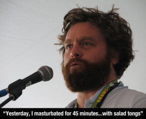 The Comical Genius Of Zach Galifianakis (19 Pics)