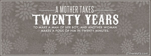Mother Quote Facebook Cover