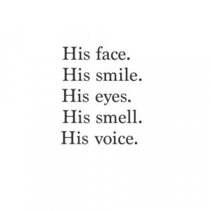 his smile quote