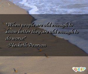 Funny Old People Quotes