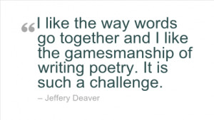 Writing Quotes by Jeffery Deaver