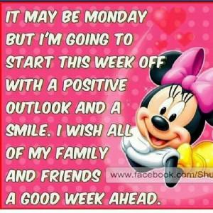 Positive outlook....