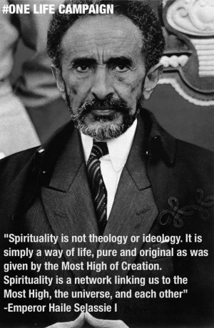 Sep 24 36 Spirituality quotes wisdom Haile Selassie I