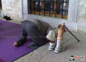 Prayer Inspiration Of No Legs Man