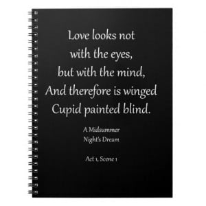 Romantic Ornaments & Gifts with Shakespeare Quotes Journal