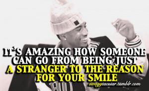 ... this image include: trey songz quotes, love, reason, smile and someone
