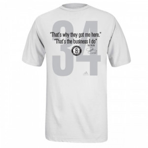 adidas Nets Paul Pierce Quote The Truth T-Shirt