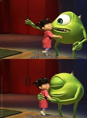 boo, cute, disney, love, monster, monsters, monsters inc, pixar, quote ...