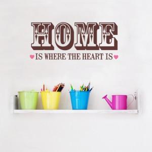 ... ? Hang dan eens wat mooie woorden in huis. Happy quote = happy home
