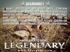 WeAreLegendary #deer #hunting #deerhunting #whitetails # ...