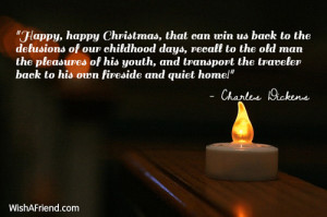 ... Christmas That Can Win Us Back To The Delusions Of Our Childhood Days