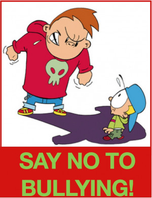 stop bullying clipart