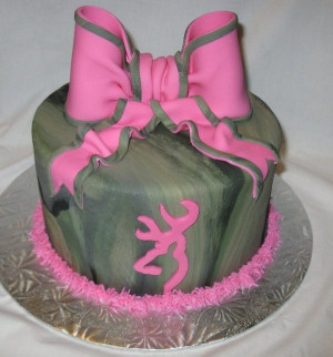 Cool cake!! Possibly the best cake ever for C…Camo Girl Browning ...