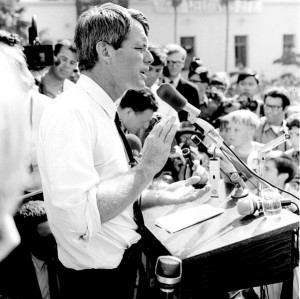 Robert F. Kennedy on Campaign